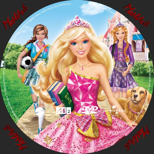 famous cartoon galleries cartoon picture covers cover princess school barbie charm