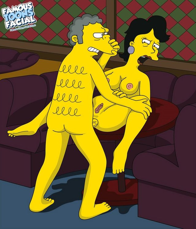 fucking scenes from the simpsons simpsons sexy from fucking milf moe