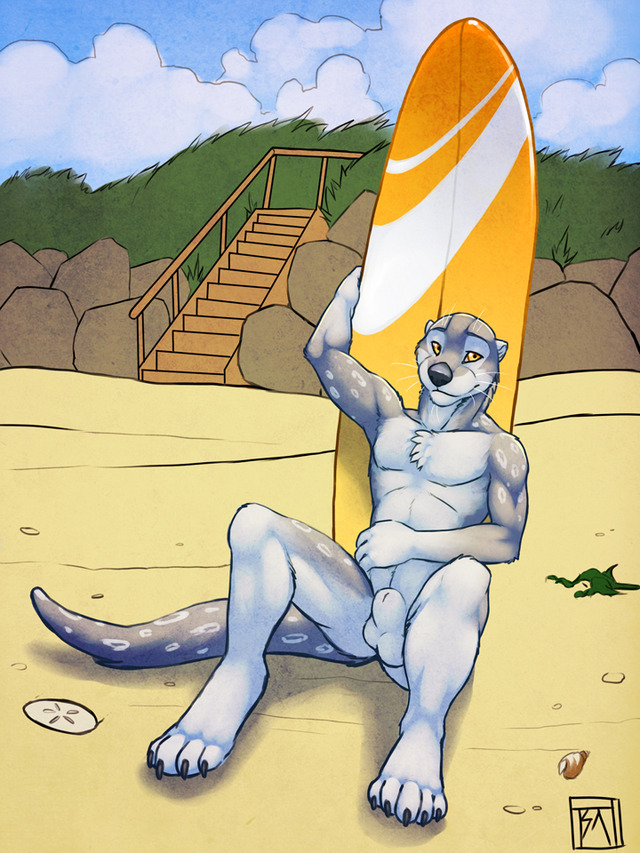 gay furry porn back from got beach little heres jamaica