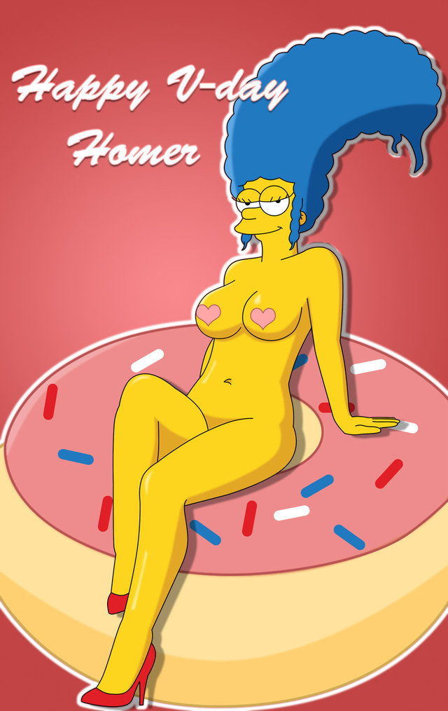 homer and marge bondage simpsons marge simpson happy monday valentine valentines