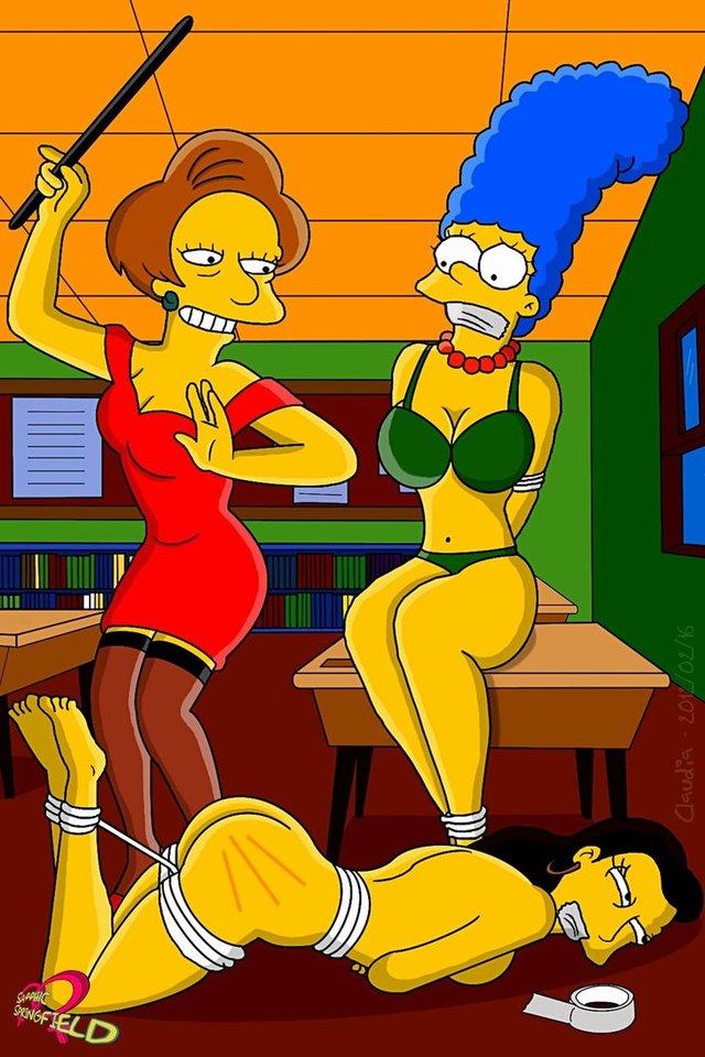 Marge Simpson Bondage Porn