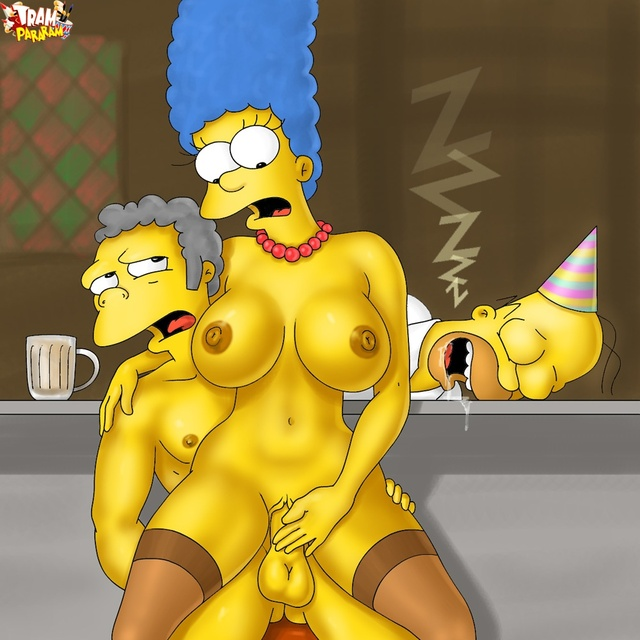 homer and marge bondage simpsons sexy marge simpson homer tram blowjob tagme yadachan