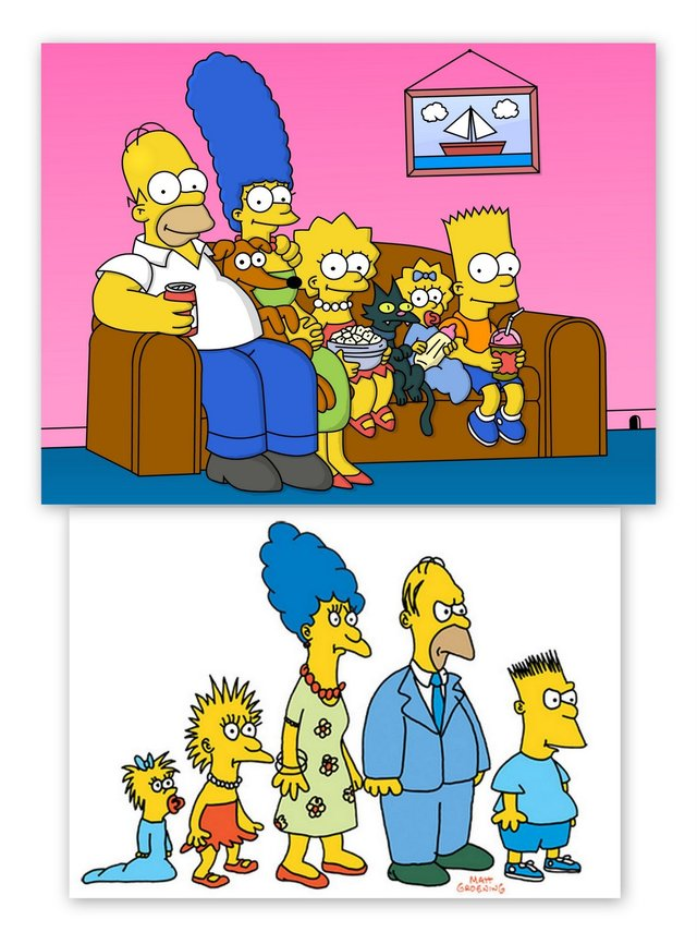 homer and marge bondage simpons nowandthen