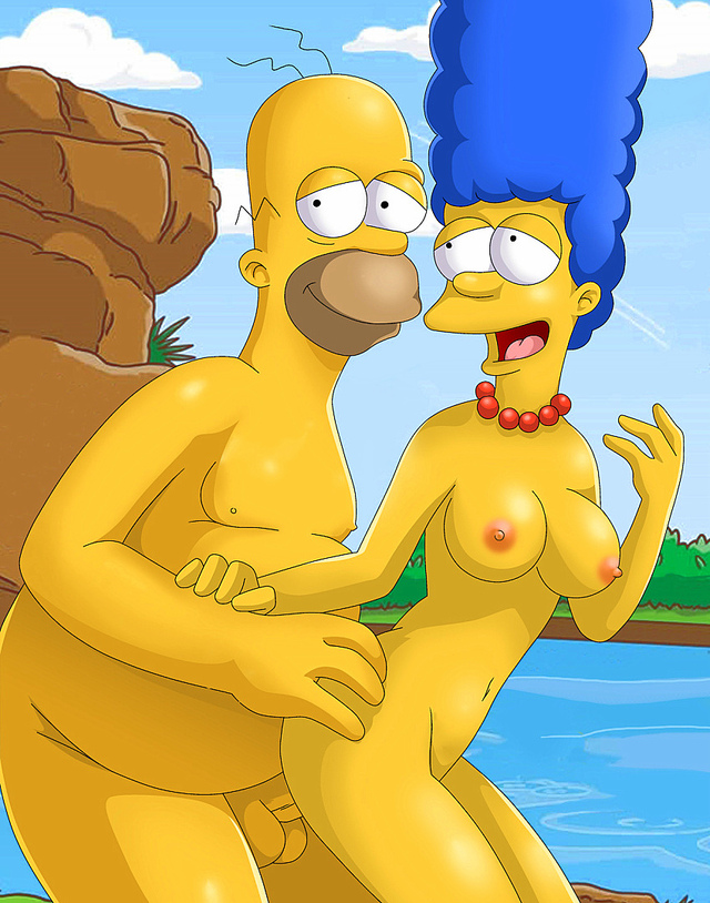 homer and marge bondage sexy marge homer monday skinny dip