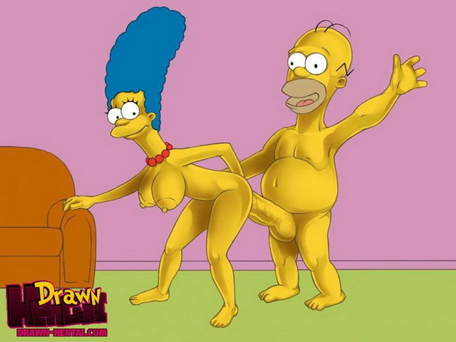 homer and marge bondage hentai simpsons marge simpson homer fucks asshole