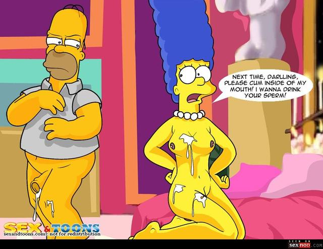 homer and marge bondage simpsons sexy comic cartoon gallery show marge homer toons sexiest wmimg