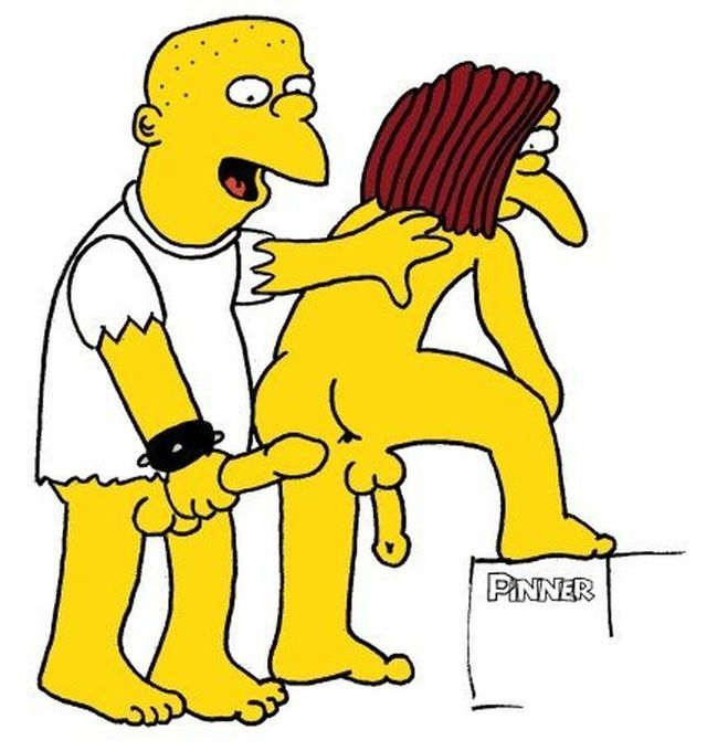 homer and marge bondage simpsons cartoon andnot