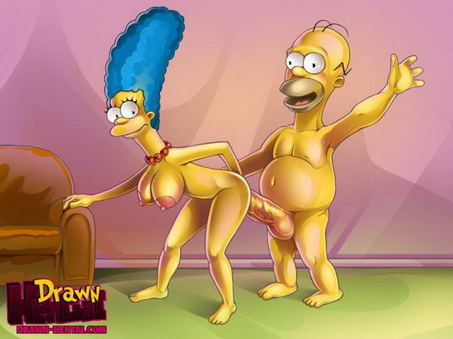 homer and marge bondage hentai marge simpson homer cartoons