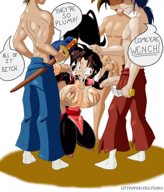 inuyasha hentai page gets titted sango studs pricks immense few predominated