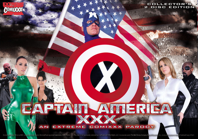justice league porn web cover captainamerica
