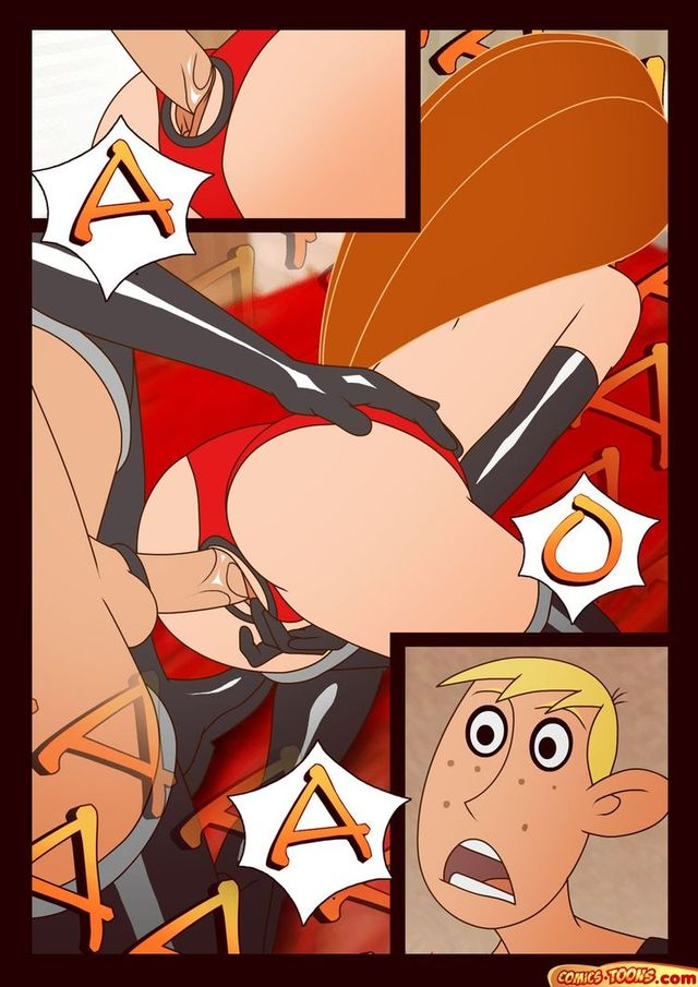 kim possible's orgies porn kim possible adult toon having