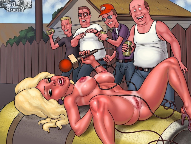 king of the hill porn porn king gets hill luanne hot blonde fucked