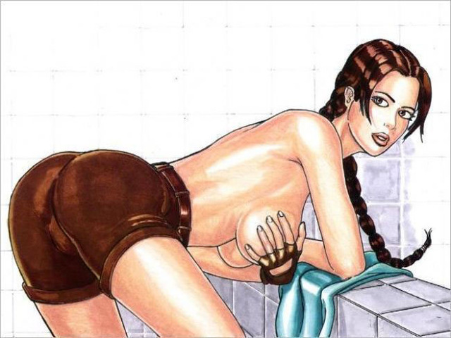 lara croft porn hentai porn pics cartoon cartoonporn tomb raider lara croft