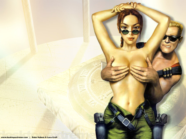 lara croft's holes under attack porn porn media sexy cartoon toon from cartoons toontoon lara croft