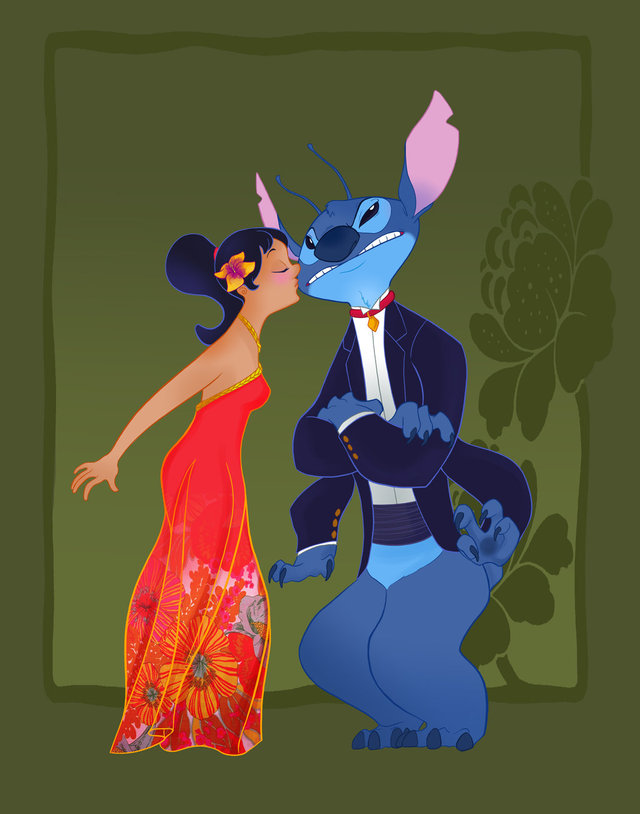 lilo and stitch sex dir disney this like lilo stitch would night celebrity characters look prom beloved
