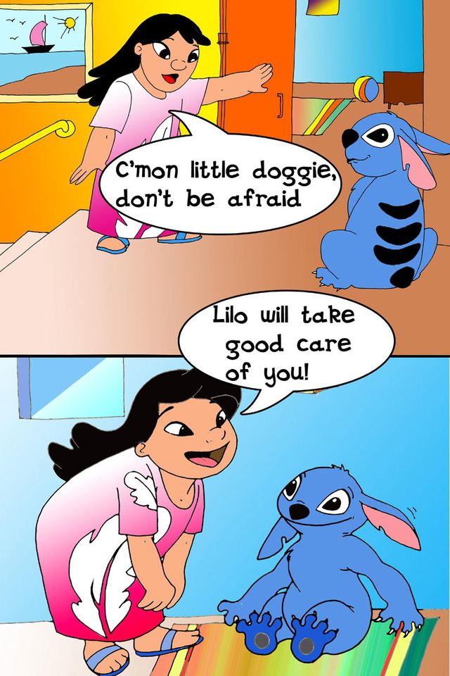 lilo and stitch sex hentai comics lilo stitch mother daughter