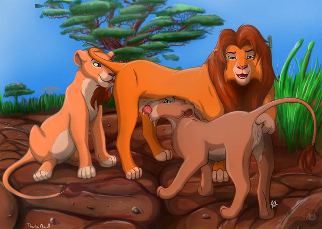 король лев картинки секс