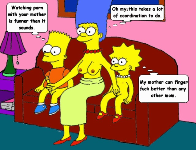 lisa simpson porn porn simpsons marge simpson lisa bart animated ddfa