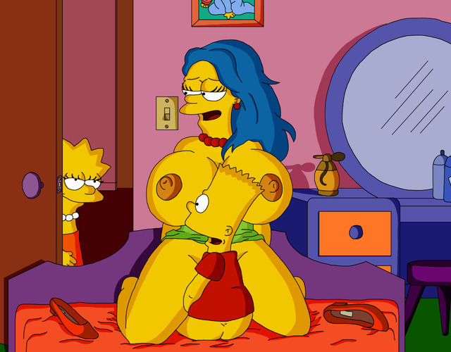 marge and bart simpson porn porn simpsons marge simpson lisa bart ross