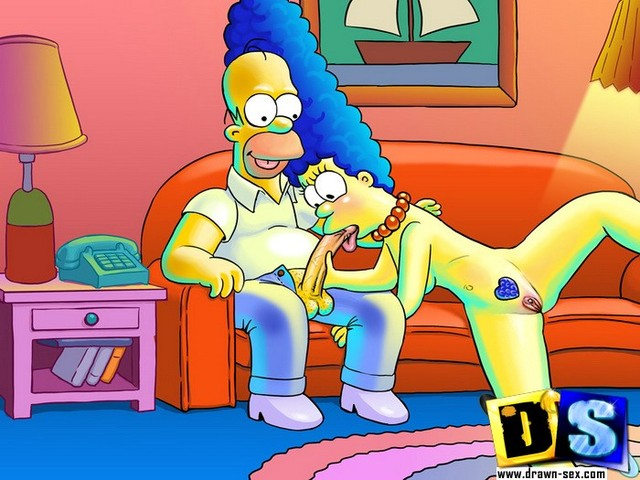 marge and bart simpson porn simpsons