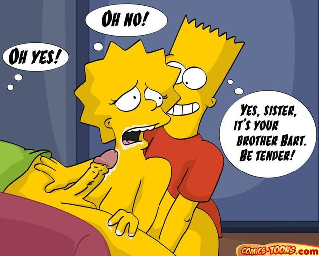 marge and bart simpson porn porn simpsons comic cartoon