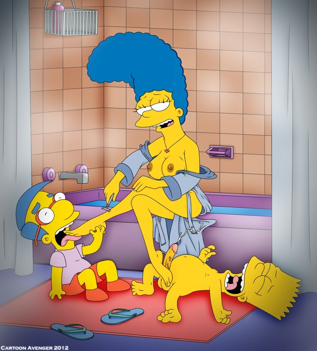 marge and bart simpson porn simpsons media marge simpson original