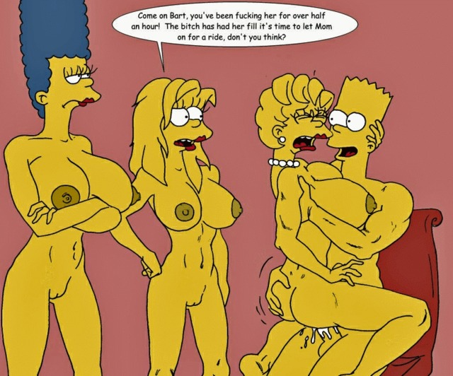 Marge And Bart Simpson Porn Cartoon Animated Ade Cbc Incest