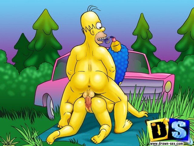 marge and edna getting plowed porn porn simpsons media marge homer lisa nude posing