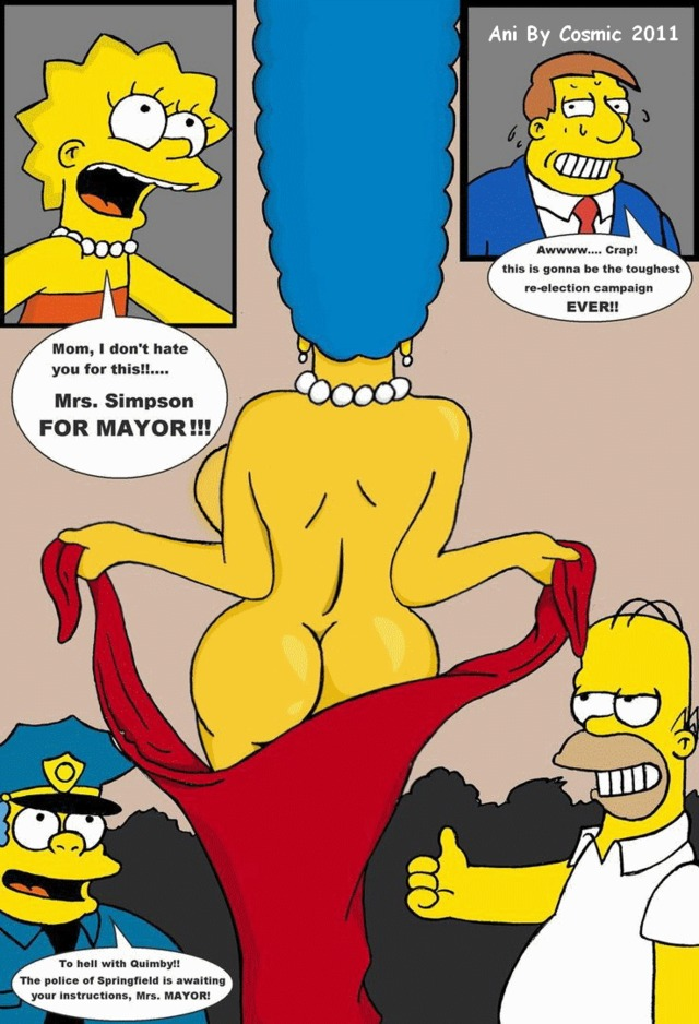 Marge simpson big tits