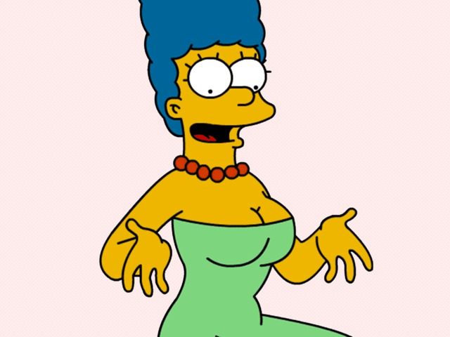 marge and lisa simpson porn wallpaper marge simpson toons boobs busty thesimpsons