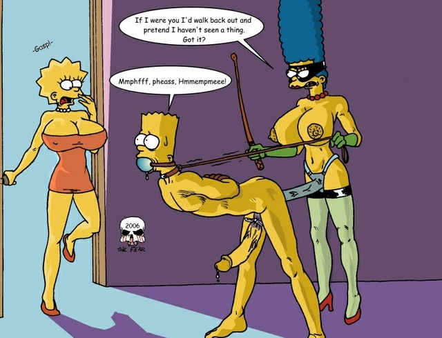 marge and lisa simpson porn simpsons marge simpson lisa bart eac fear eacfa