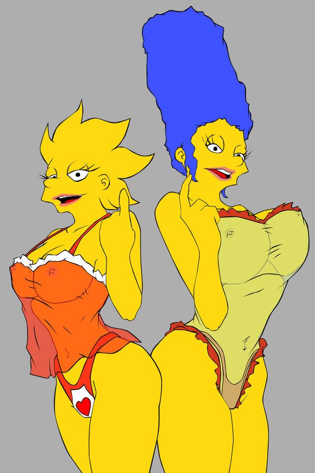 Marge And Lisa Simpson Porn Hentai Simpsons Media