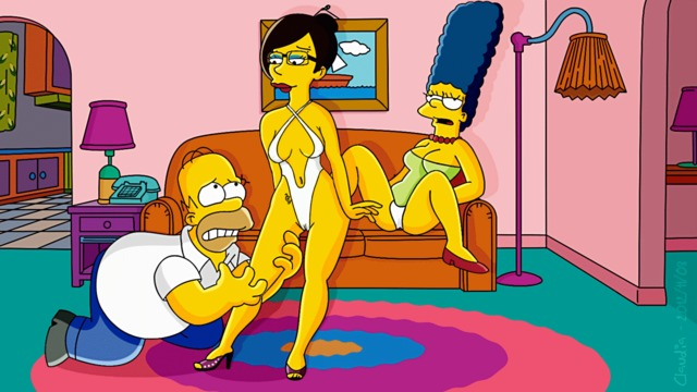 marge porn porn simpsons movies