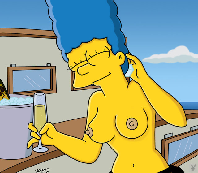 marge simpson naked simpsons pictures sexy marge simpson