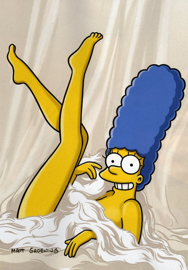 marge simpson naked page sexy pics show marge simpson playboy