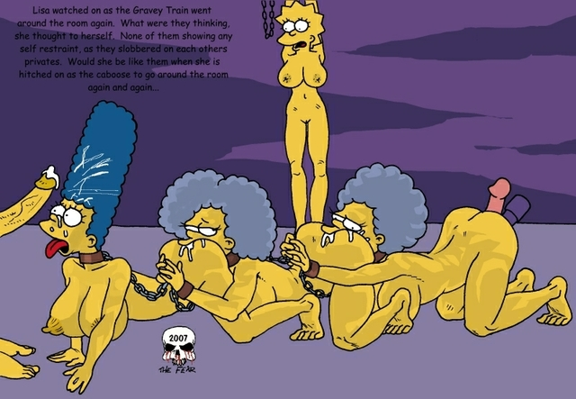 marge simpson porn simpsons marge simpson lisa bart patty fear acd selma bouvier