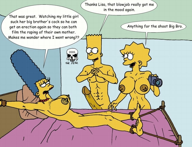 marge simpson porn porn simps simpsons xxx pics cartoon marge simpson lisa bart toon fear ebfe