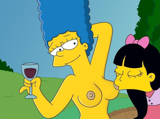 marge simpson porn simpsons jessica marge simpson lovejoy