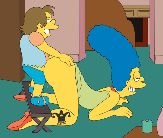 marge simpson porn porn simpsons pics marge simpson from animated blargsnarf nelson muntz fee jester