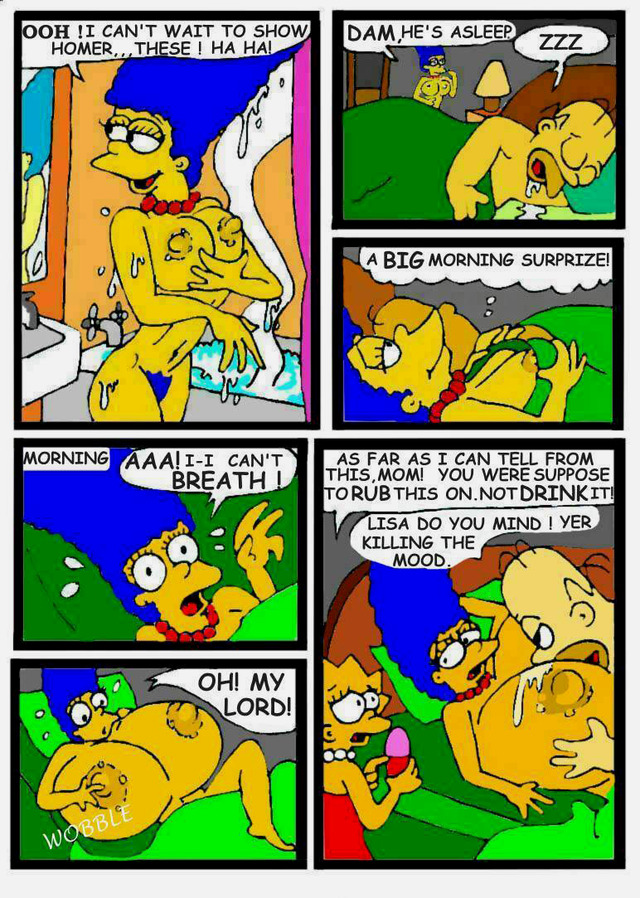 marge simpson porn simpsons comic marge simpson homer lisa bart necron eed magie