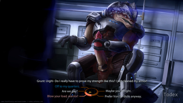 mass effect porn mass effect todex grunt krogan bcedb