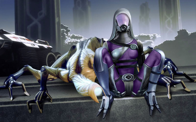 mass effect porn albums games jake purple mass effect tali suit