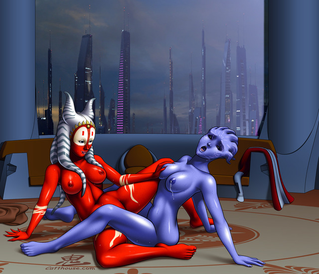mass effect porn media original crossover star wars togruta oni mass effect shaak tevos catthouse
