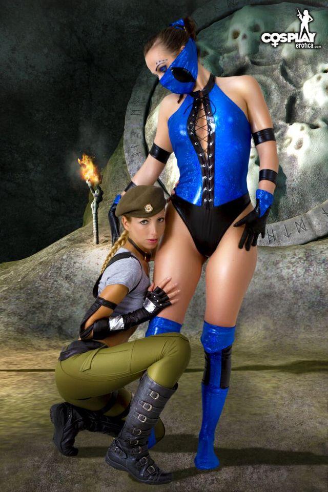 Kitana Cosplay Mortal Kombat Sonya Blade Porn