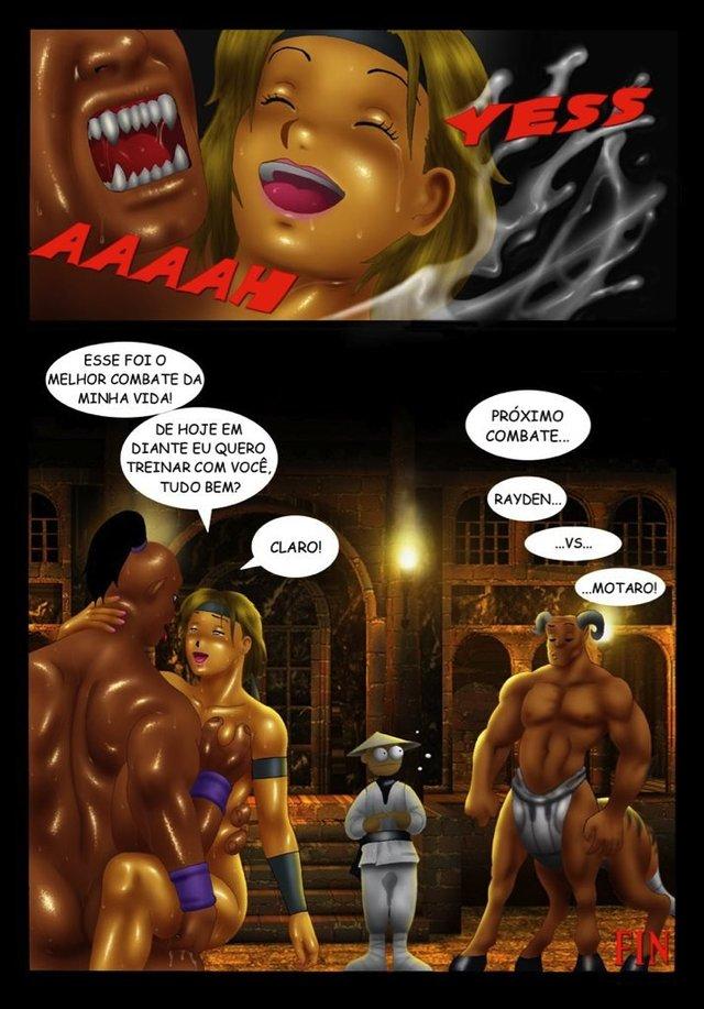Мортал комбат секс комиксы