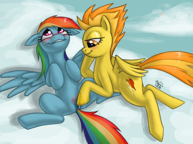pony porn magic little afb bfd friendship pony rainbow dash scootaloo spitfire fdfd ldr