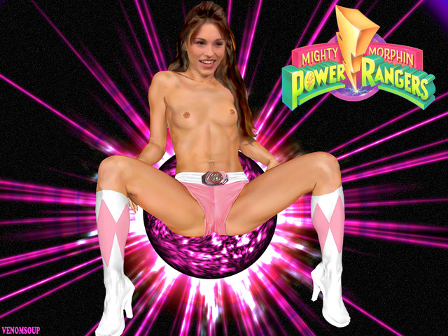 power rangers porn amy fakes power rangers pink mighty morphin ranger johnson venomsoup