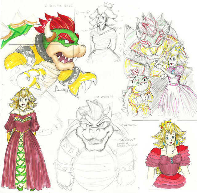 princess peach hentai bowser pre morelikethis collections bowsers peaches ibeewitched kisd