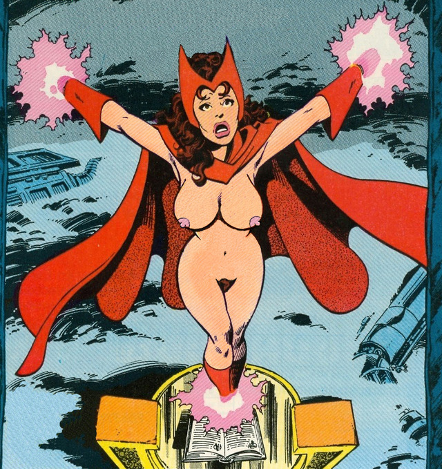red-haired witch using sex magic porn xxx pictures page best album sorted superheroes scarlet witch lusciousnet captured hex