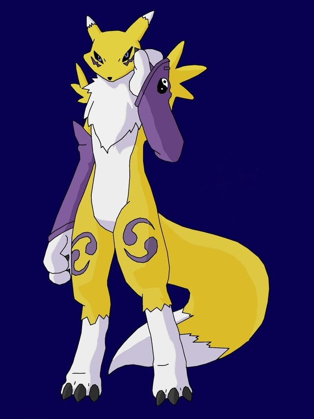 renamon porn art pre renamon face cybron slapped